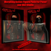 Morphing Action Figure Pack Prop