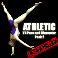 Custom Athletic Morph and Poses For Victoria 4!