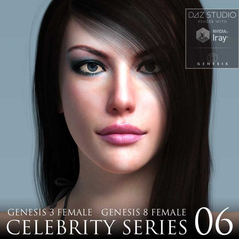 for Genesis 3 and Genesis 8 Female Character Package