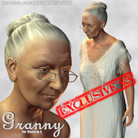 Granny Morphs and Poses For Victoria 4!