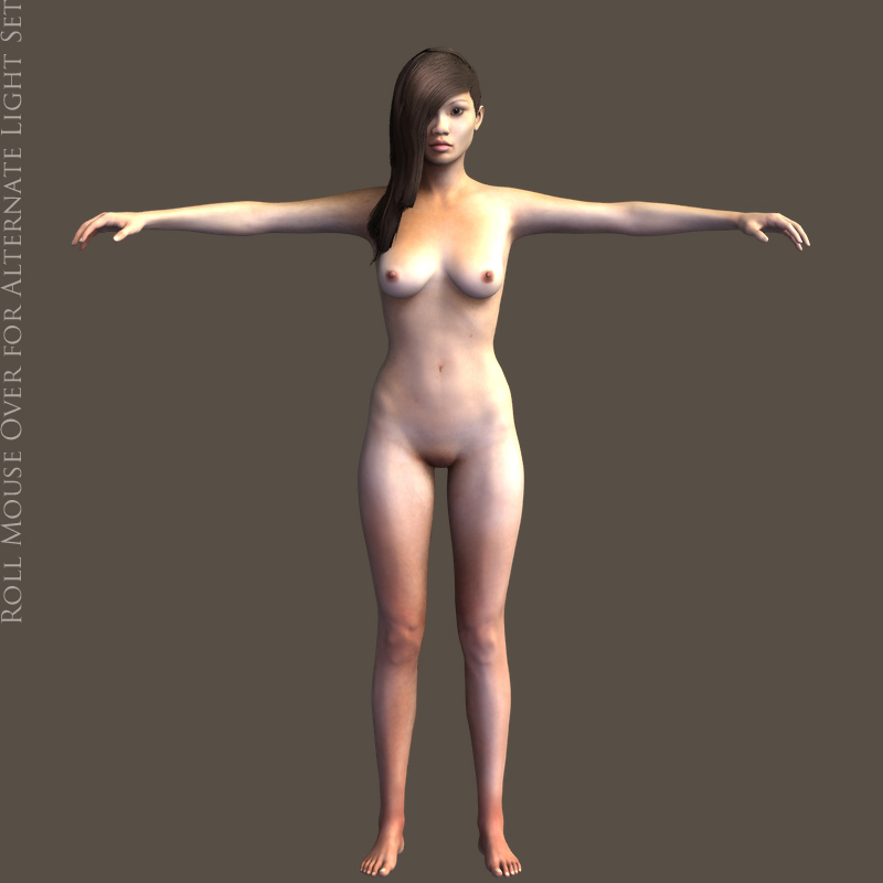Free daz studio naked model