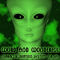 Create weird and wonderful characters with these