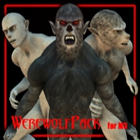 Custom Werewolf Morphs and Textures for Michael 3!