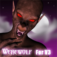 Custom Werewolf Morphs For Victoria 3!